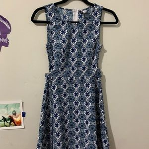 H&M Divided Blue Dress